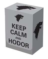 Коробочка для карт Deckbox на 100шт, Legion Keep Calm and Hodor