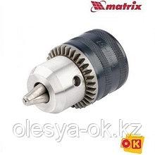 Патрон для дрели ключевой 1,5-13 мм, 3/8. MATRIX
