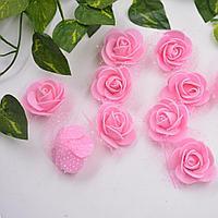 Розочки розовые. 35 мм. Creativ 2116