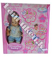 Кукла с коляской  Diverting Baby (h=38 см)