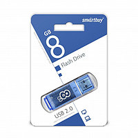USB накопитель Smartbuy 8GB Glossy series Blue