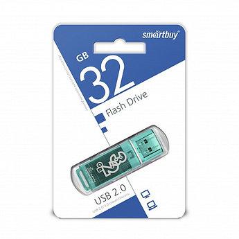 USB накопитель Smartbuy 32GB Glossy series Green