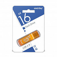 USB накопитель Smartbuy 16GB Glossy series Orange