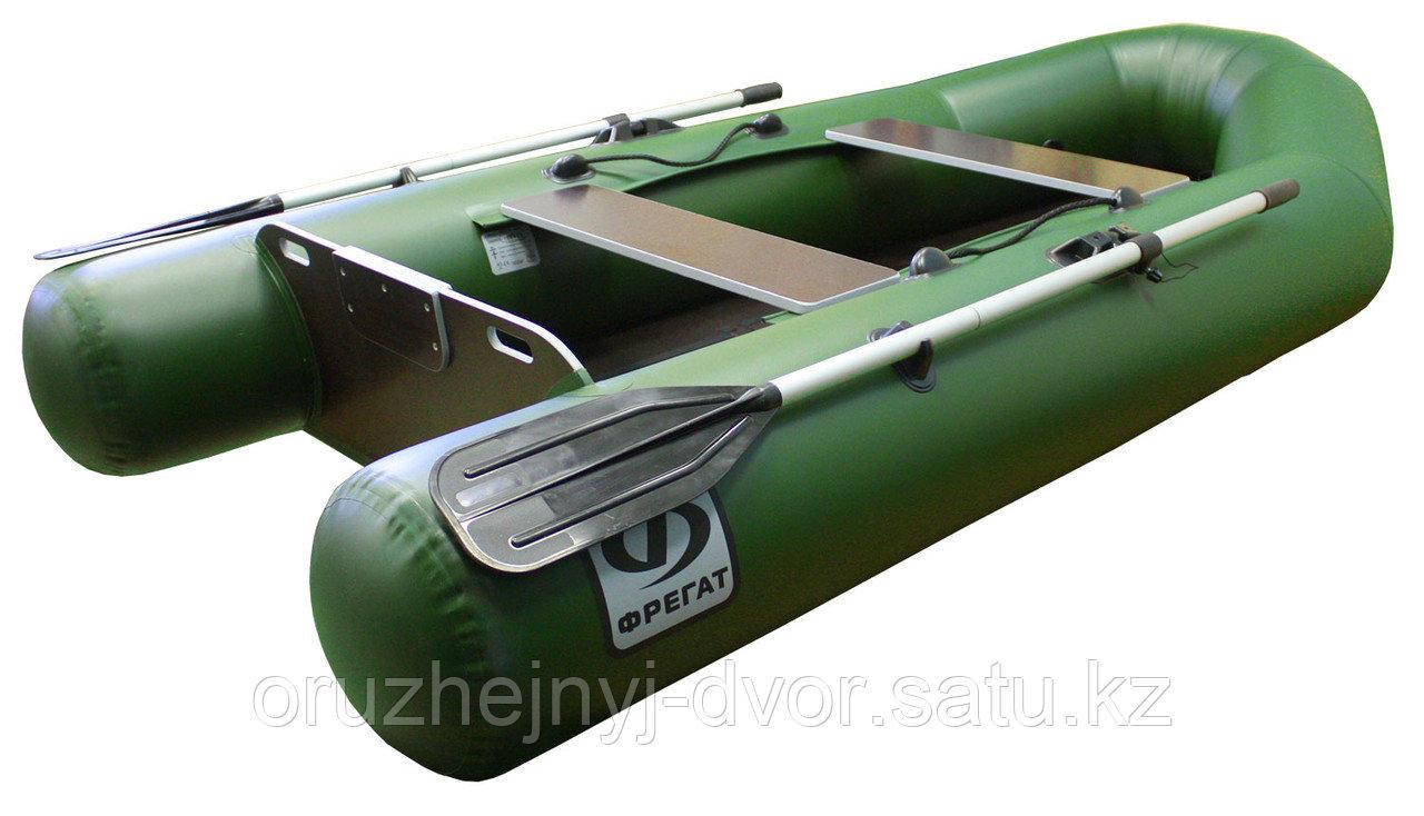 Лодка Фрегат М-280 ЕS л/т зел.(2+1 чел,240кг,5л/с) реечный пайол