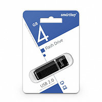 USB-накопитель Smartbuy 4GB Quartz series Black