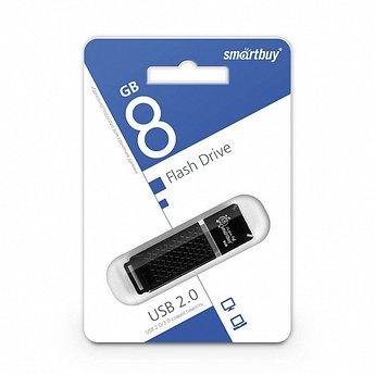 USB-накопитель Smartbuy 8GB Quartz series Black