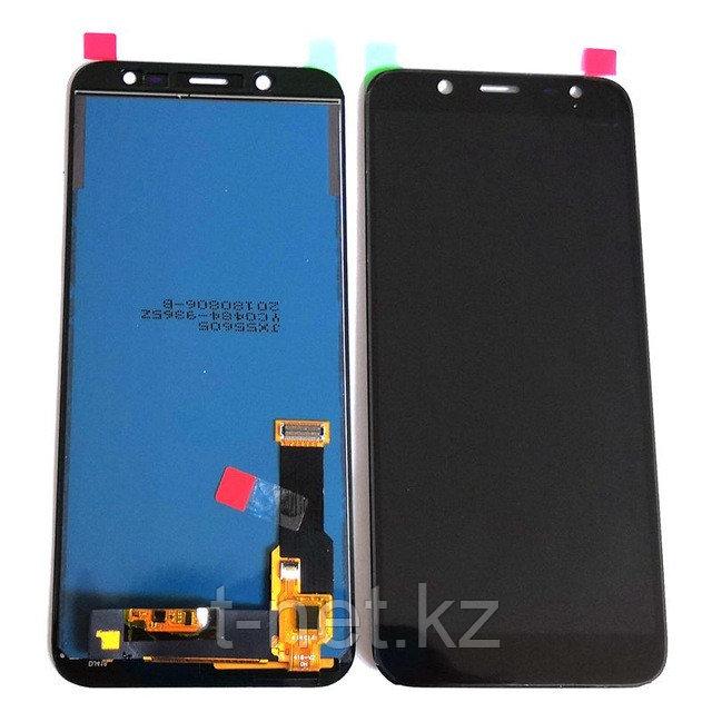 Дисплей Samsung J6 2018 SM-J600 ( копия Тайвань) с сенсором цвет черный