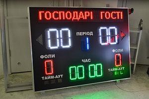 Спортивное информационное табло