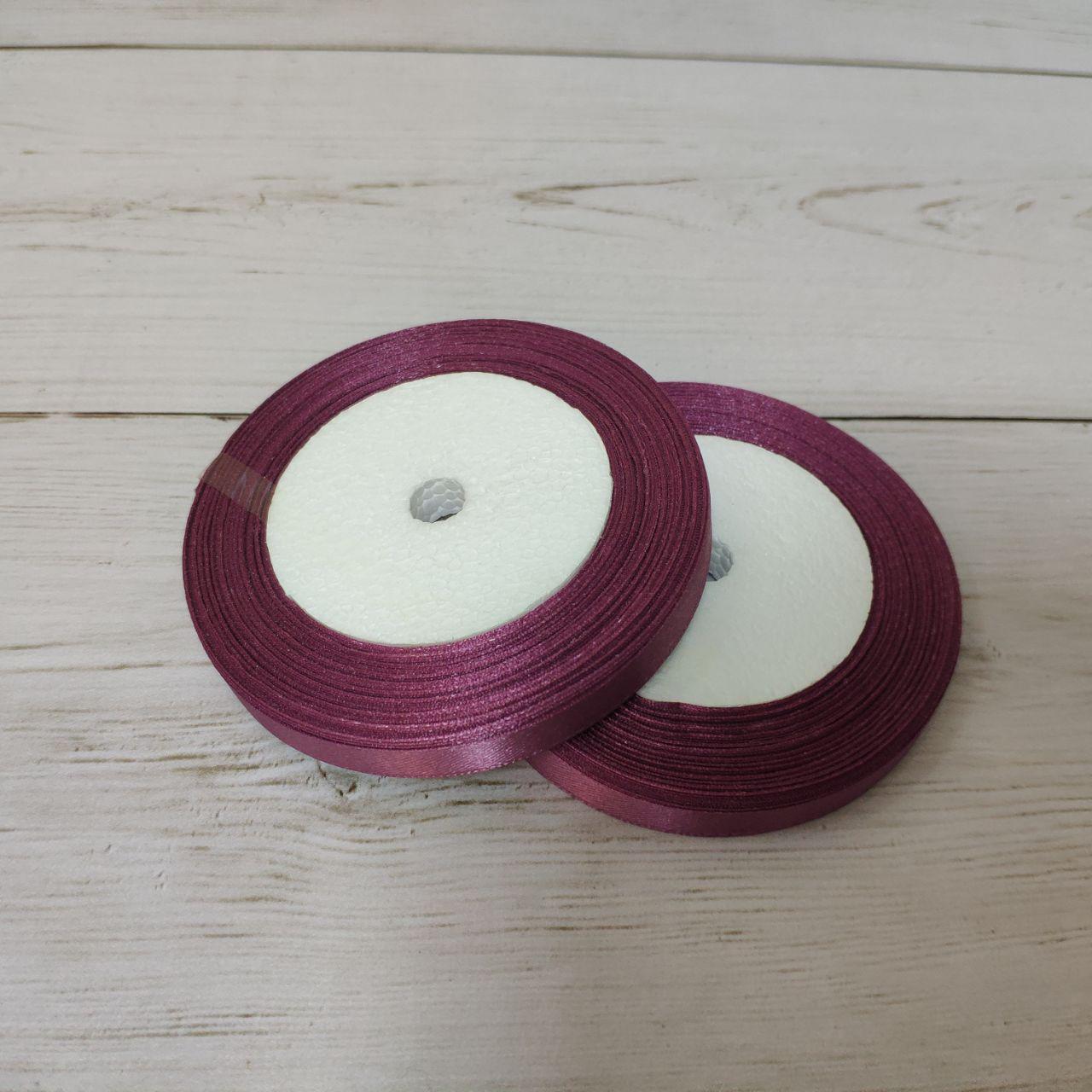 Лента атласная 12мм темно-фиолетовый