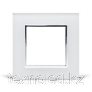 Рамка 1-я Стекло Белое, фото 2