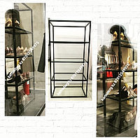Стойка со стеклянной полкой система ( Loft)