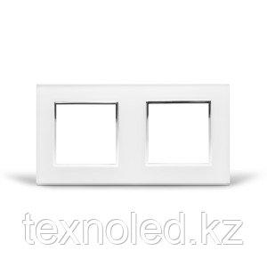 Рамка 2-я Стекло Белое, фото 2
