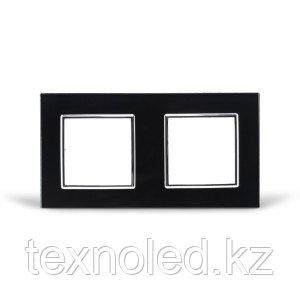 Рамка 2-я Стекло Черное, фото 2