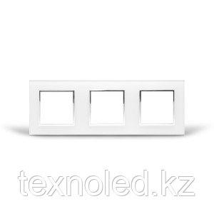 Рамка 3-я Стекло Белое, фото 2