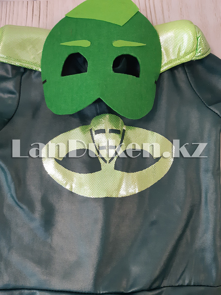 """Детский костюм Гекко с маской из мультфильма """"Герои в масках"""" ( Дракончик) - фото 7"""