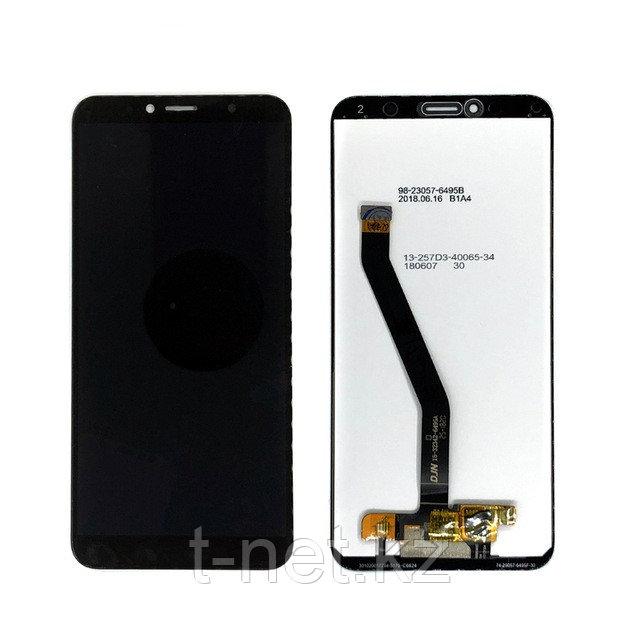 Дисплей Huawei Y6 Prime 2018 ATU- L31 с сенсором цвет черный