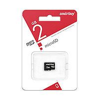 Карта памяти microSD Smartbuy 2 GB