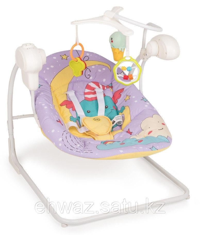 Электрокачели Happy Baby Jolly V2 Violet