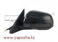 Зеркало заднего вида Toyota Highlander 2008-2013гг/правое/регулировка/с подогревом/5 контактов/