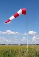 Указатель направления ветра в комплекте