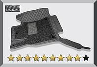3D Коврики в салон Toyota Land Cruiser 100 1998-2007 Серые