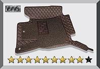 3D Коврики в салон Toyota Land Cruiser 200 2007-2015 Шоколад