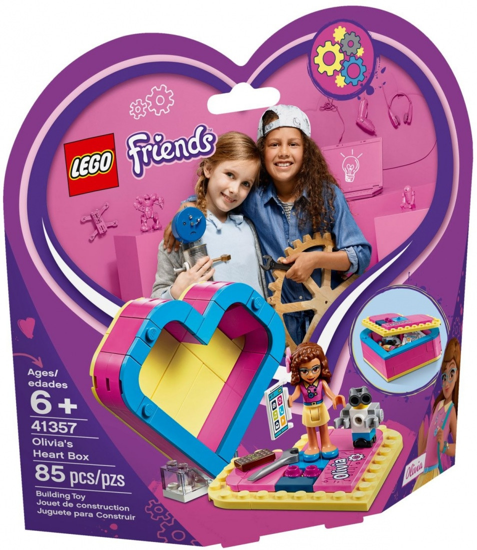 41357 Lego Friends Шкатулка-сердечко Оливии, Лего Подружки