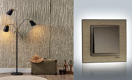 Рамки на выключатели и розетки Style Aluminium