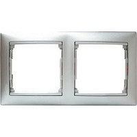 Style Aluminium Серебряная, Бронзовая, Титановая Рамка 2-Я