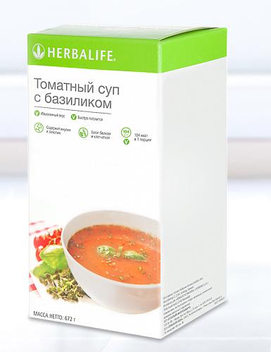 Томатный суп с базиликом для активных людей, экономящих время