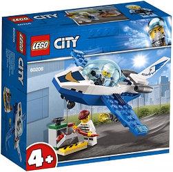 60206 Lego City Воздушная полиция: Патрульный самолёт, Лего Город Сити