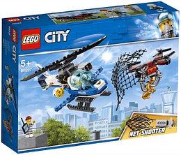 60207 Lego City Воздушная полиция: Погоня дронов, Лего Город Сити