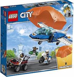 60208 Lego City Воздушная полиция: Арест парашютиста, Лего Город Сити
