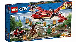 60217 Lego City Пожарные: Пожарный самолет, Лего Город Сити