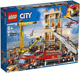 60216 Lego City Пожарные: Центральная пожарная станция, Лего Город Сити