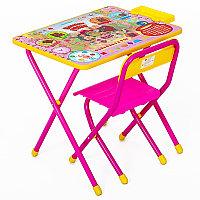 "Набор Стол-стул ""Дэми"" (розовый) - ""Винни-Пух"""