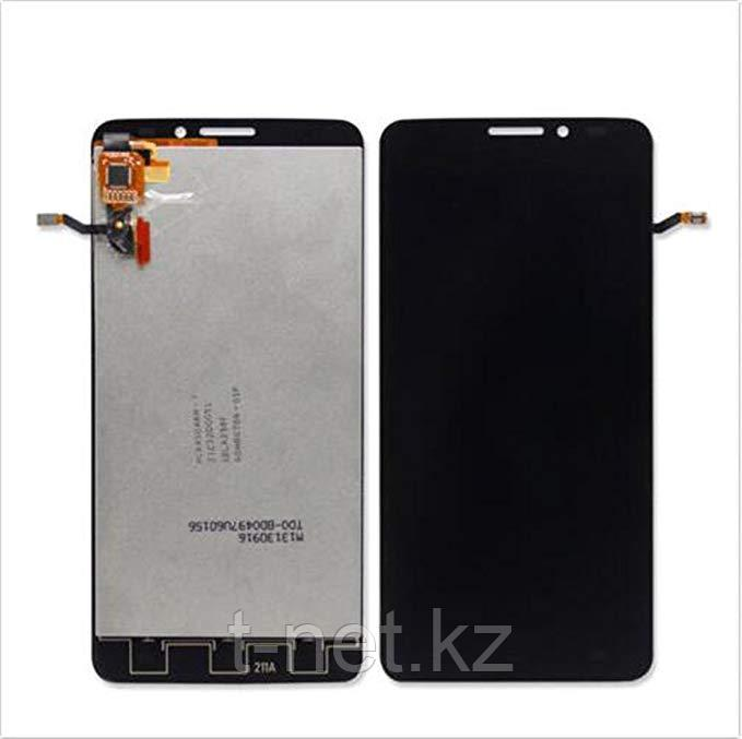 Дисплей Alcatel ONE TOUCH IDOL X 6040 с сенсором, цвет черный