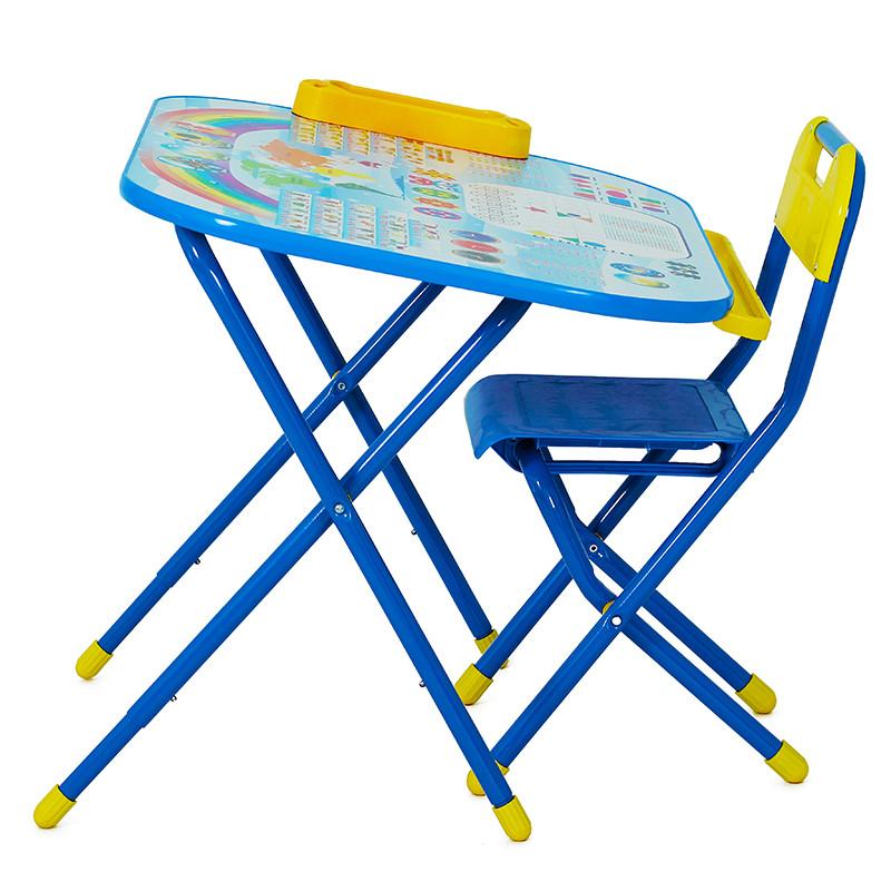 "Стол-стул ""Дэми"" Трансформер Дошколёнок - ""Блокнот"" синий"