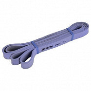 Эспандер ленточный петля Atemi, ALR0121, 208х2,1 см, 9-29 кг, фиолетовый