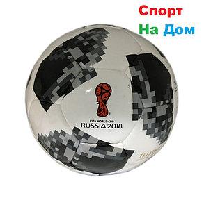 """Футбольный мяч """"Telstar 18"""" ЧМ-2018 (кожа), фото 2"""