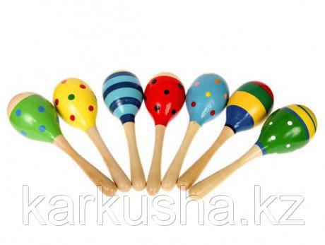 Маракас(музыкальная деревянная игрушка)