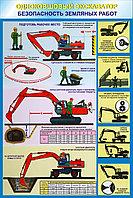 Плакаты Безопасность земляных работ, фото 1