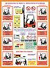 Плакаты Безопасность работ с электропогрузчиком