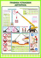 Правила установки автокрана, фото 1