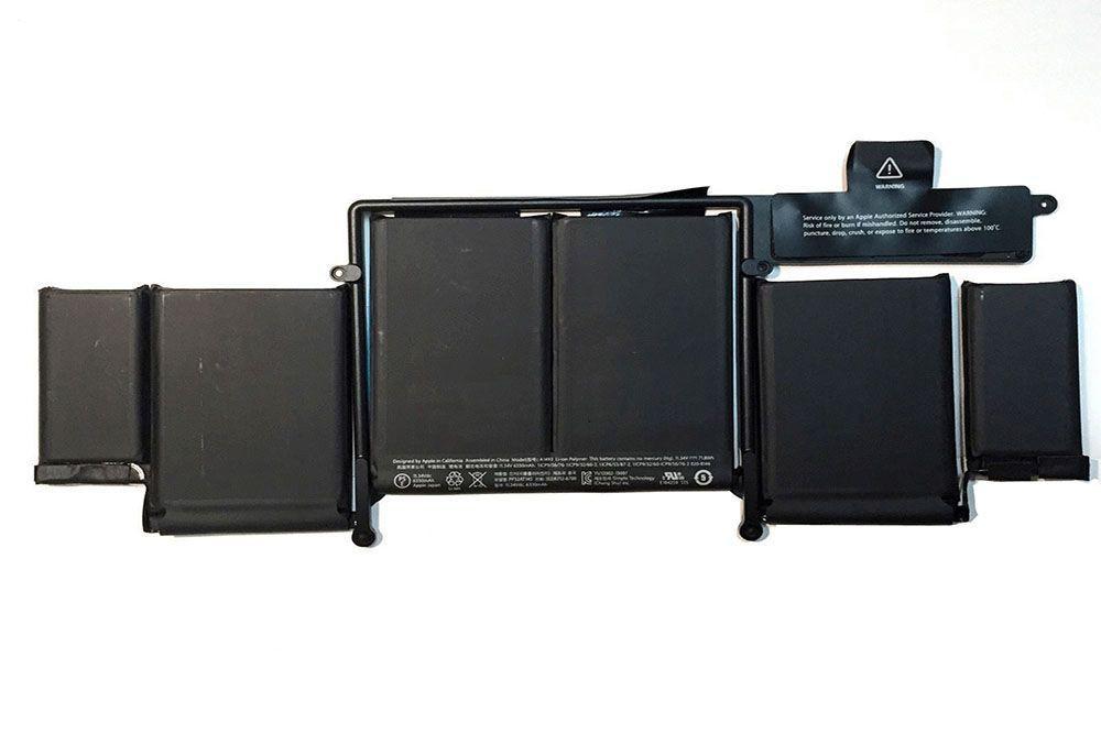 "Аккумулятор для Apple MacBook Pro 13"" Retina A1502, A1493 (11.34V, 6330 mAh) Original"