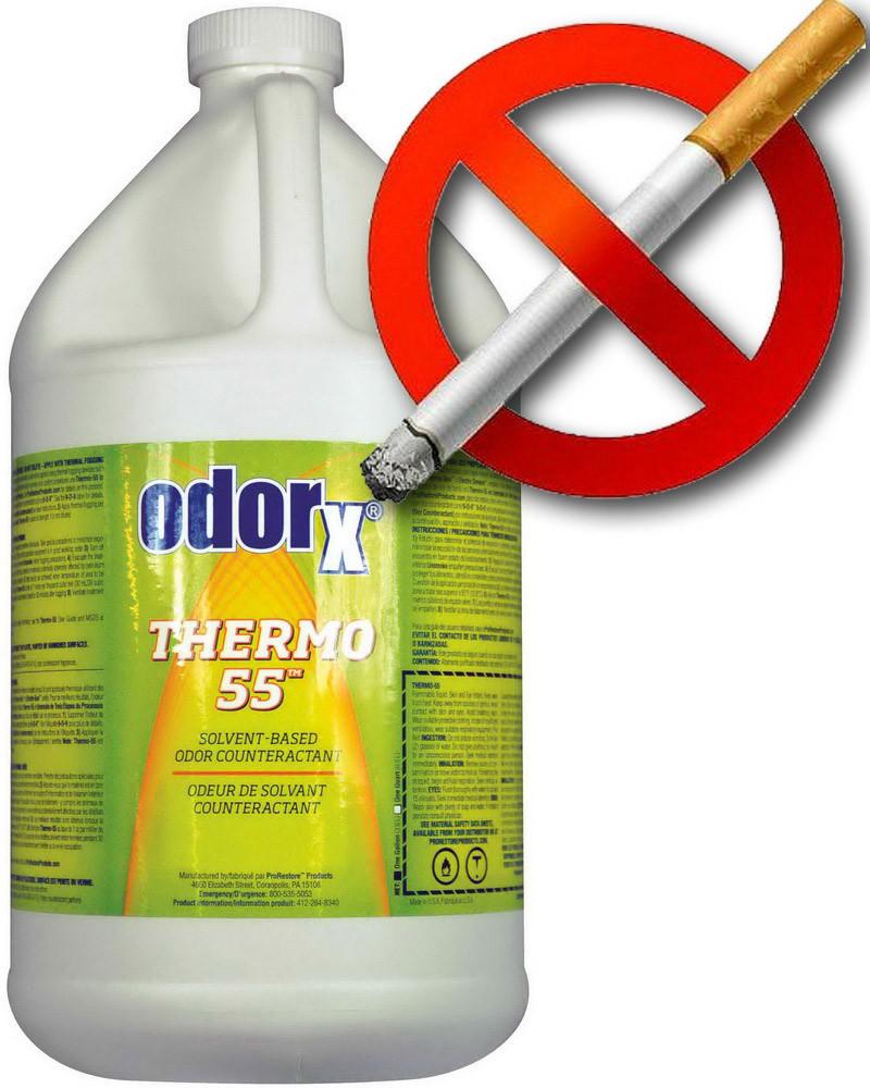 Жидкость для сухого тумана  ODORx® Thermo-55™  из США Tabac-Attac (антитабак)