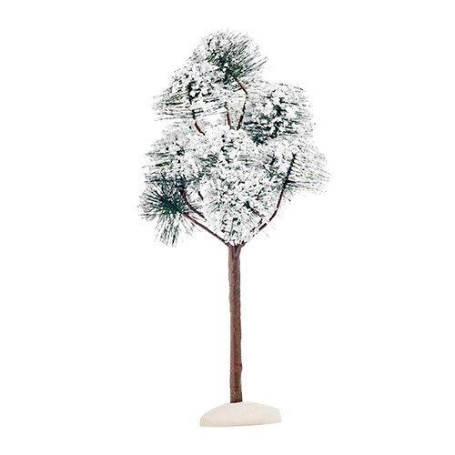 Декорация Деревце зеленое заснеженное Горная сосна 23см ED1025902