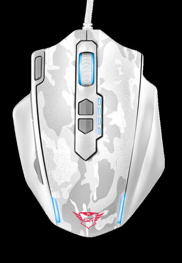 Мышь игровая Trust GXT155C GAMING MSE-CAMO белый