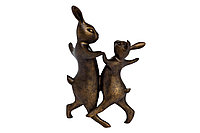 """Статуэтка """"Танцующие кролики"""""""