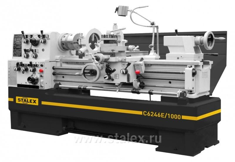 Станок токарно-винторезный STALEX C6246E/1000